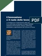 L'Innovazione e Il Ruolo Delle Tecnologie-Intervista Ad Angelo Falchetti