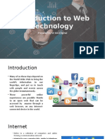 Introduction to Web Technology Copy
