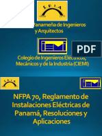 Areas Peligrosas NFPA 70 Capitulo 5 Presentación Ing Magallón