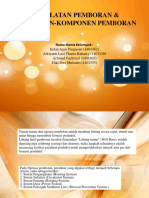 Peralatan Pemboran & Komponen-komponen Pemboran