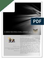 Ebike Design Report