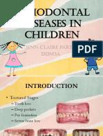 Periodontal Diseases in Children