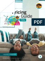 Fnb pricing guide
