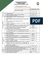 Tabla de Especificaciones Examen v Mate 131 1441