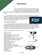 Definiciones y Alcances de La Termodinámica
