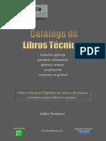 Catalogo Libros Tec Nico s 2017