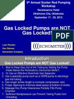 Artlift 1-5 Echometer - Gas Lock NOT Gas Locked