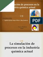 Tema 1..La Simulación de Procesos en La Industria Química