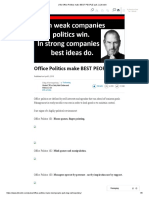 (16) Office Politics Make BEST PEOPLE Quit. _ LinkedIn
