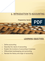 1. Introduction of Accounting