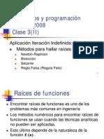 Metodos Numericos - Medio, Falsi, Newton