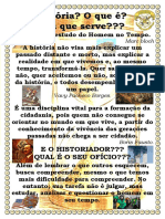 O Ofício Do Historiador - Cartaz
