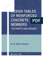 001design Tables of Reinforced Concrete Members