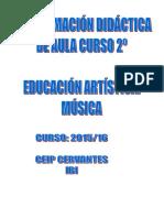 Programacion Musica Curso 2 2015-16