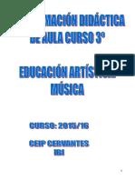 Programacion Musica Curso 3 2015-16
