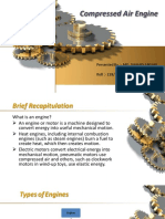 A ppt presentation on Compressed Air Engine