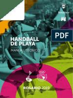 Manual Tecnico de Handball de Playa