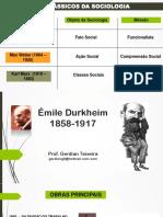 Os clássicos da Sociologia .pdf