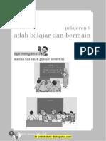 Pelajaran 9 Adab Belajar dan Bermain.docx
