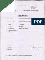 Quality Plan Digital Automatic Voltage Regulator
