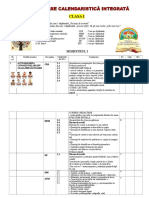 Refacuta Planificare Integrata Clasa 1
