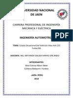 Informe Tecnico Hilux 4x4