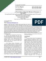 Dokumen.tips Giant Bulla or Tension Pneumothorax Diagnostic Dilemma Giant Bulla or Tension
