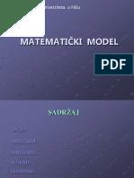 matematicki model.PPT