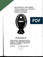 DIP-TRIB-002-2011 AUDITORIA ESPECIAL-TRANSFERENCIA DE RECURSOS A CUENTAS DEL TGN DEL BANCO CENTRAL DE BOLIVIA EMERGENTE DE LOS DEPOSITOS DE TERCEROS EN LAS CUENTAS FISCALES DEL SENAPE(1).pdf