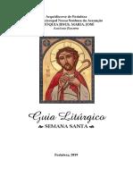 Livro Guia Da Semana Santa 2019