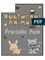 Nocturnal Animals Printable Pack 123H4M.pdf