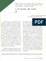 COMENTARIOS AL TETXO DE IVAN OROZCO ABAD
