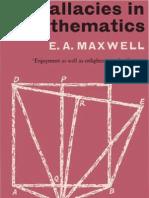 19346327 Fallacies in Mathematics