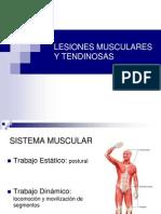 Lesiones Musculares y Tendinosas Toha