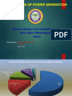 power generation study