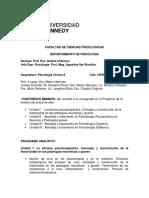 Guía de estudio - Psicología Clínica II - Año 2017.docx