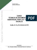 Antropología visual. ElisendaArdévol