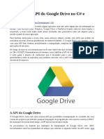 Utilizando a API Do Google Drive No C# e VB.net 1