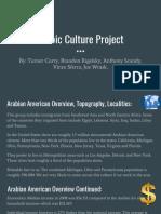 arabic culture project