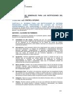 Normas de Prevención Del Lavado de Activos y Financiación Del Terrorismo Del Sistema de Seguro Privado