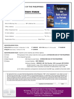 National Convention of Lawyers Registration Form