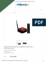 RECEPTOR SATELITAL CINEBOX FANTASIA + ACM+SKS+IKS - Mil y Uno