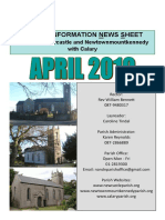 April 2019 News - The Parish of Newcastle & Newtownmountkennedy with Calary, Co. Wicklow, Ireland