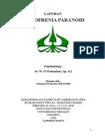 Case Kelompok - Skizofrenia Paranoid (Wulan's)