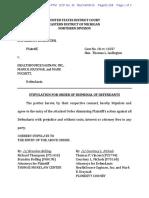 Order of Dismissal