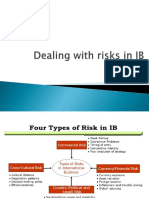 Dealing With Risks in IB UNIT 1