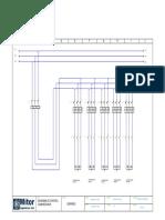 Diagrama de Fuerza de Banco de Condensadores de 135 Kvar