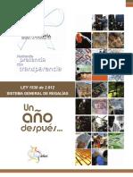 ANALISIS DEL SG DE REAGALIAS LEY 1530 2012.pdf
