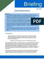 Briefing Media Good Governance