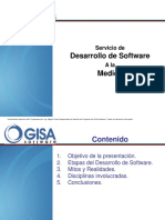 Presentacion Ejecutiva Servicio de Desarrollo a La Medida